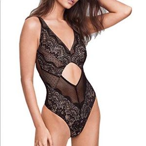 NWT LARGE CUT OUT DREAM ANGELS BODYSUIT